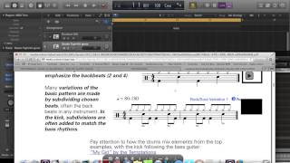 How to program drum patterns from notation into Logic Pro X using Ultrabeat