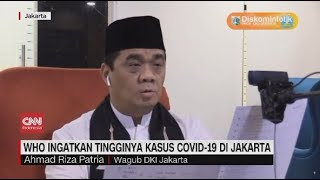 WHO Ingatkan Tingginya Kasus Covid-19 di Jakarta