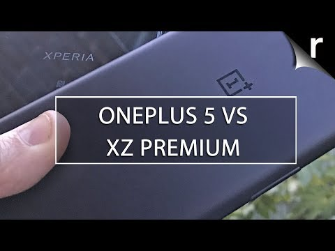 OnePlus 5 vs Sony Xperia XZ Premium: Flagship face-off