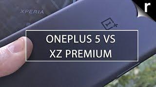 OnePlus 5 vs Sony Xperia XZ Premium: Flagship face-off