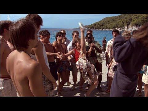 Christine Baranski and The Boys || Mamma Mia! Special Features