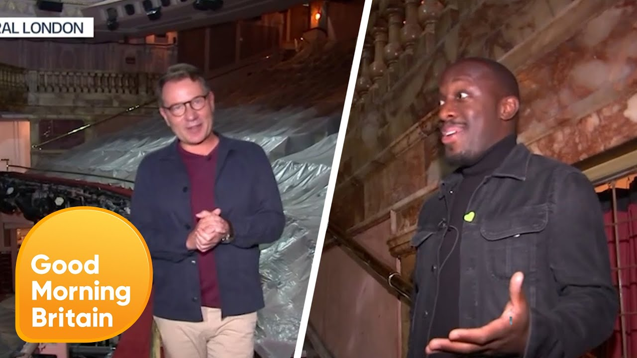 Star of Hamilton Explains How Theatre's Hope to Survive COVID-19   Good Morning Britain