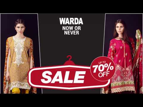Warda Winter Sale Up To 70% Off 2017