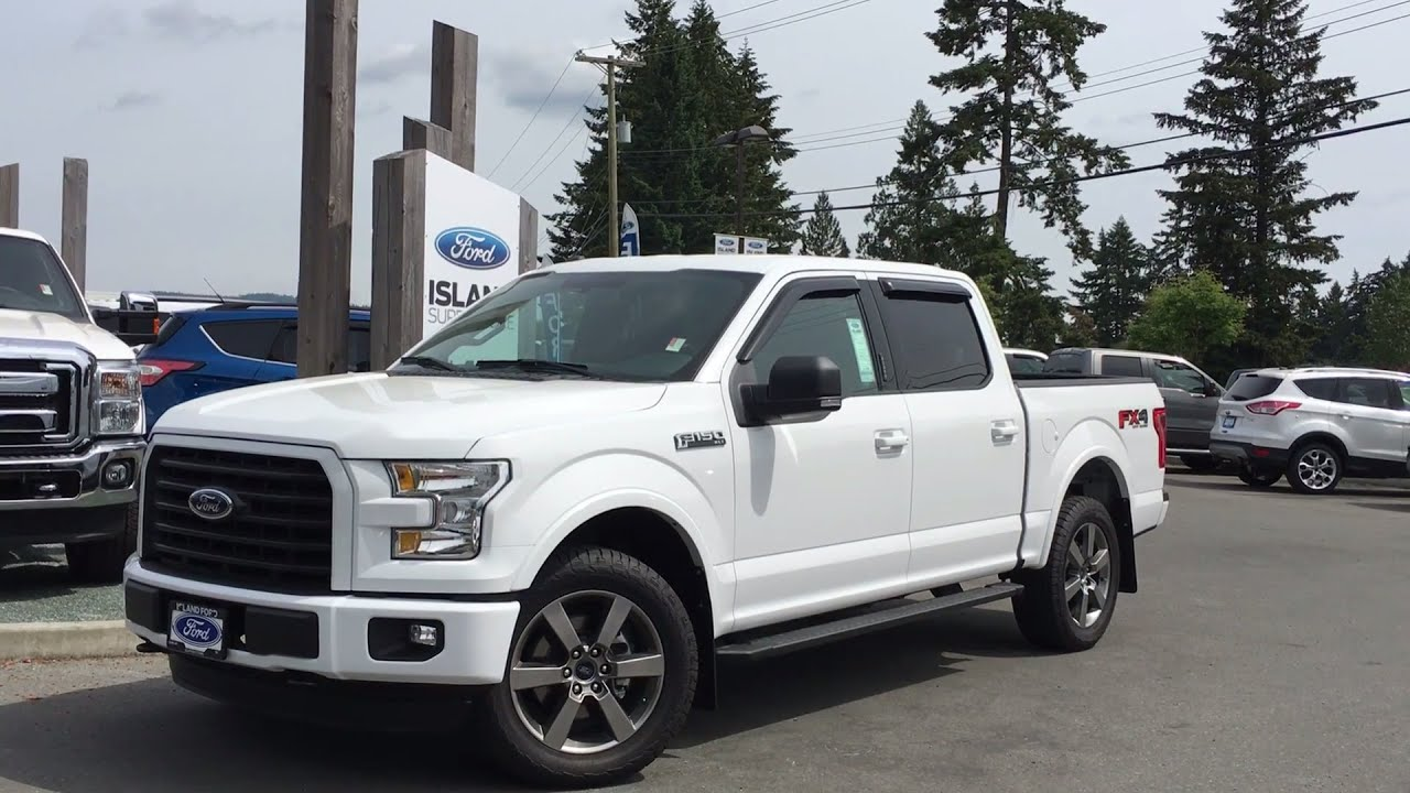 2016 ford f 150 xlt fx4 supercrew 4x4 nav review island ford