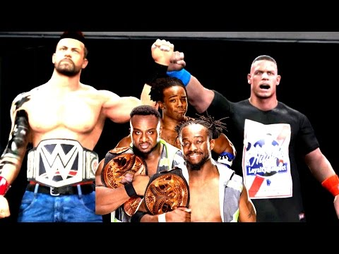 BÜYÜK TAG TEAM KEMER MAÇI ! WWE2k17