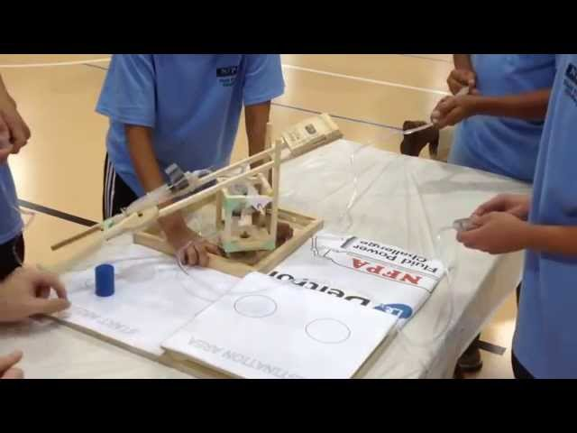 NFPA Fluid Power Challenge at Deltrol Fluid Products  - Buy American