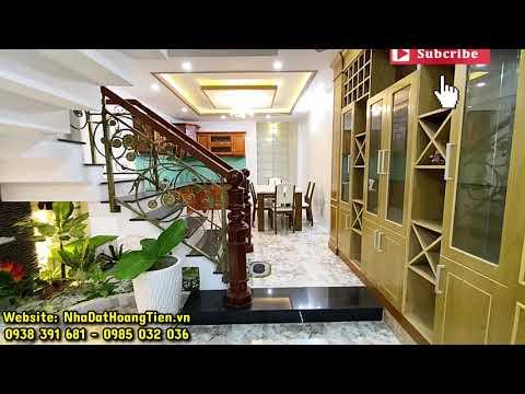 Bán nhà quận Gò Vấp | Giảm Giá Nhà đẹp FULL NỘI THẤT đường thông tại đường Phạm Văn Chiêu