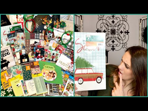 DOLLAR TREE HAUL | CHRISTMAS & NEW EXCITING NEW ITEMS | + HOBBY LOBBY HAUL