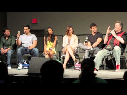 Power Rangers Time Force reunion panel - Space City Comic Con 2015