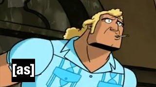 Supercut: Every Brock Inaudible | The Venture Bros. | Adult Swim