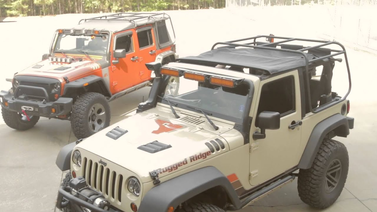 Rugged Ridge Exo Top Installation Video For 2 Door Jeep