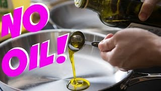 How to cook with NO OIL