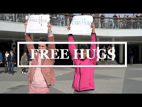 FREE HUGS in STOCKHOLM