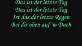 Tokio Hotel - Der letzte Tag lyrics