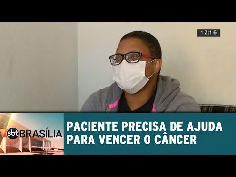 Paciente precisa de ajuda para vencer o câncer | SBT Brasília 19/07/2018