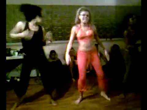 kuduro zouk Luanda - Treinamento de Dança Africana - Angola (Group KANDIMBA)