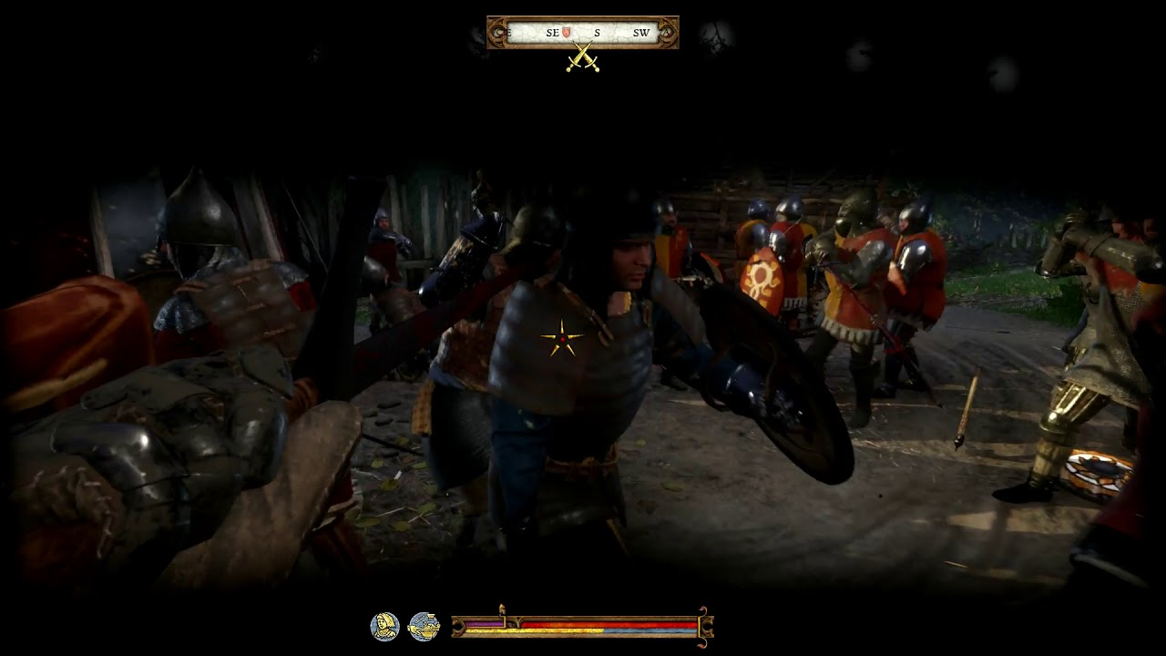 Kingdom Come Deliverance, My first big battle! - YouTube