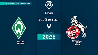 Werder Bremen 2 1 FC Koln 12 тур Германия