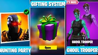 Mise à jour Fortnite 6.21: HUNTING PARTY SKIN, GHOUL TROOPER RETURN, GIFTING - PLUS!