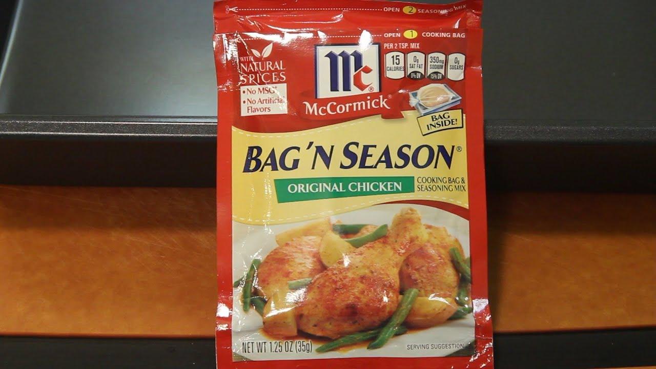 Mccormick Bag N Season Food Product Review