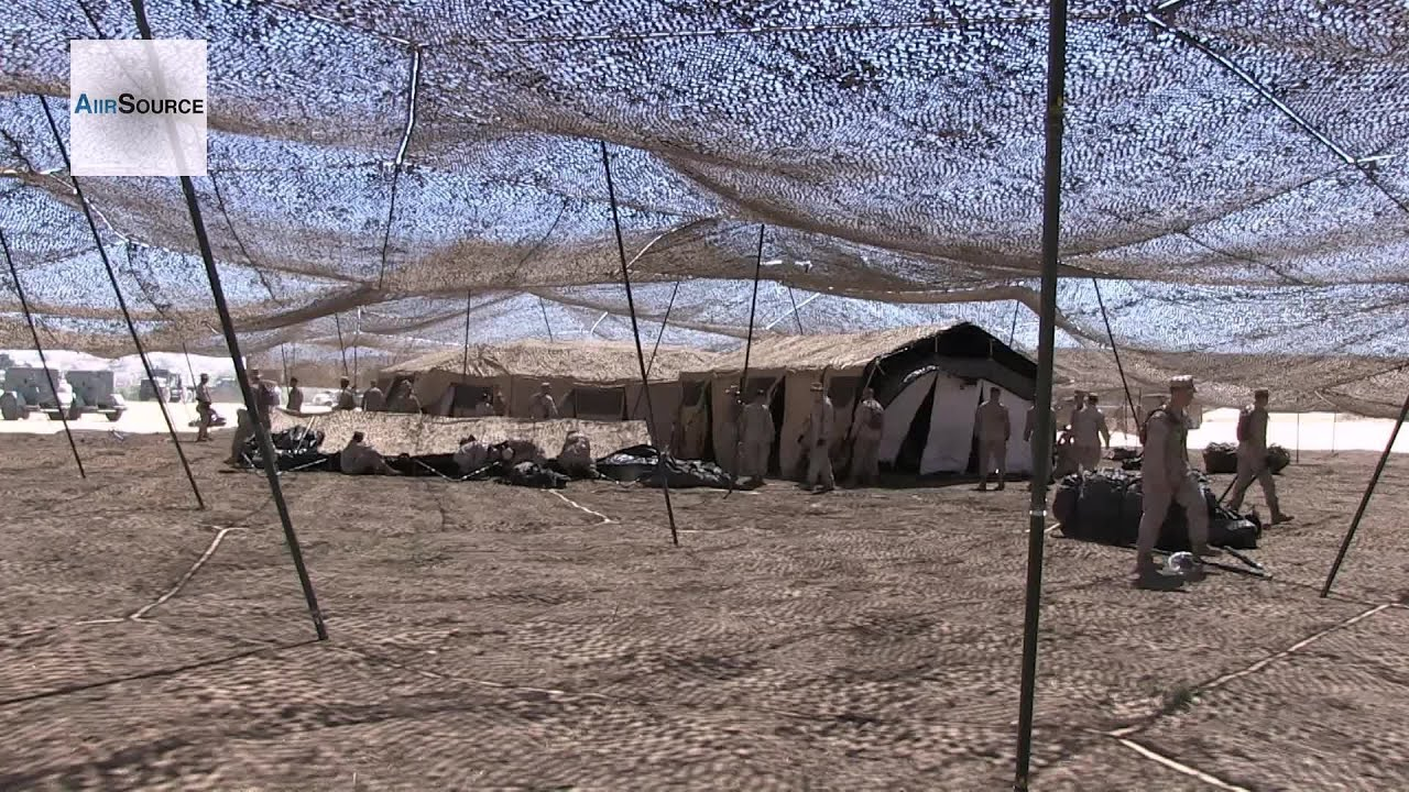 U.S. Marines Command Post Tents Assembly & U.S. Marines Command Post Tents Assembly - YouTube