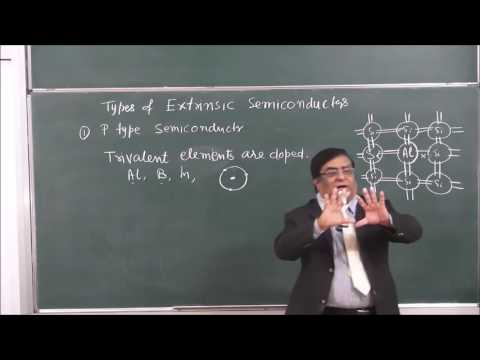 XII-14-04 p & n type semiconductor, Pradeep Kshetrapal Physics channel