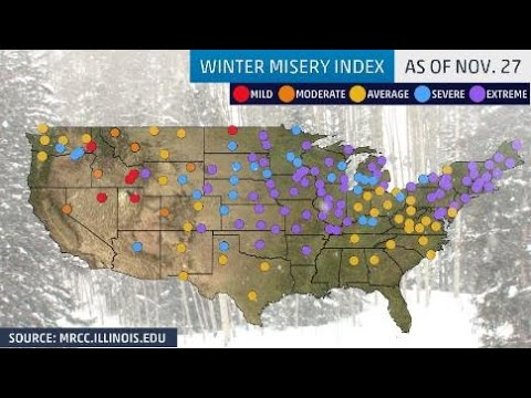 GSM Update 11/28/18 - Winter Misery Index Off The Charts Before Winter - Unicorns - Monument Valley