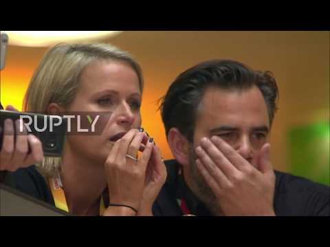 Germany: CDU HQ reacts to first exit poll as AfD looks to have secured third place