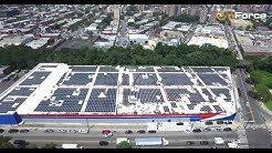 1.1 MW Solar System at Pepsi Distribution Center in Brooklyn NY