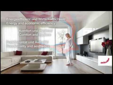 solution de chauffage et refroidissement par plafond rayonnant zehnder nestsystems version. Black Bedroom Furniture Sets. Home Design Ideas