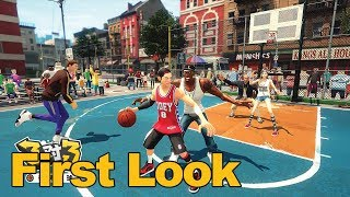 3on3 FreeStyle Basketball Gameplay First Look - MMOs.com