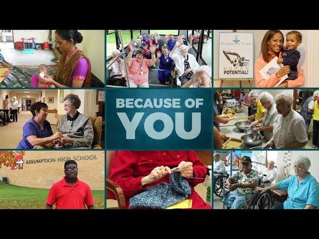 Because of You . . . Giving Tuesday 2018
