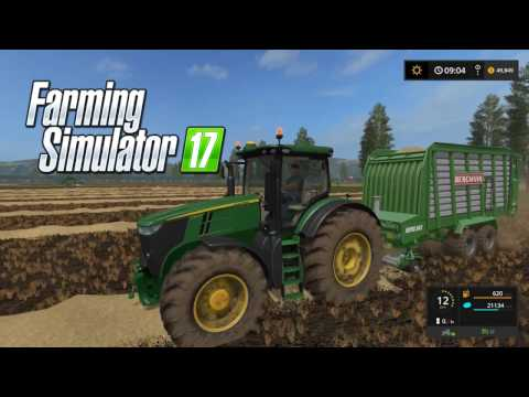 John Deere Farm - Small Town USA Episode 12 - Farming Simulator 17