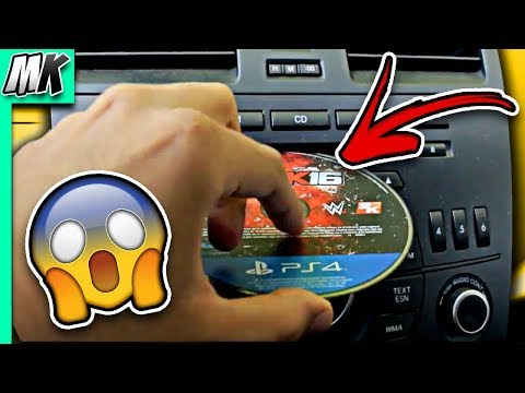 Guy Puts PS4 Game In CD Player And You Wont Believe What Happens **NEED TO SEE**
