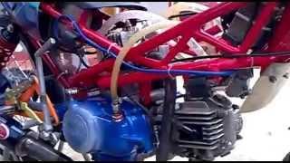 Repeat youtube video Modifikasi Yamaha Vega  2 Cylinder