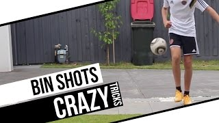 Amazing bin shots!   trick shots vol. 4   shortfootballfilms