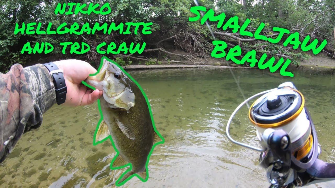 Creek Fishing in Ohio for Smallmouth Bass (Smalljaw Brawl Vol.1)