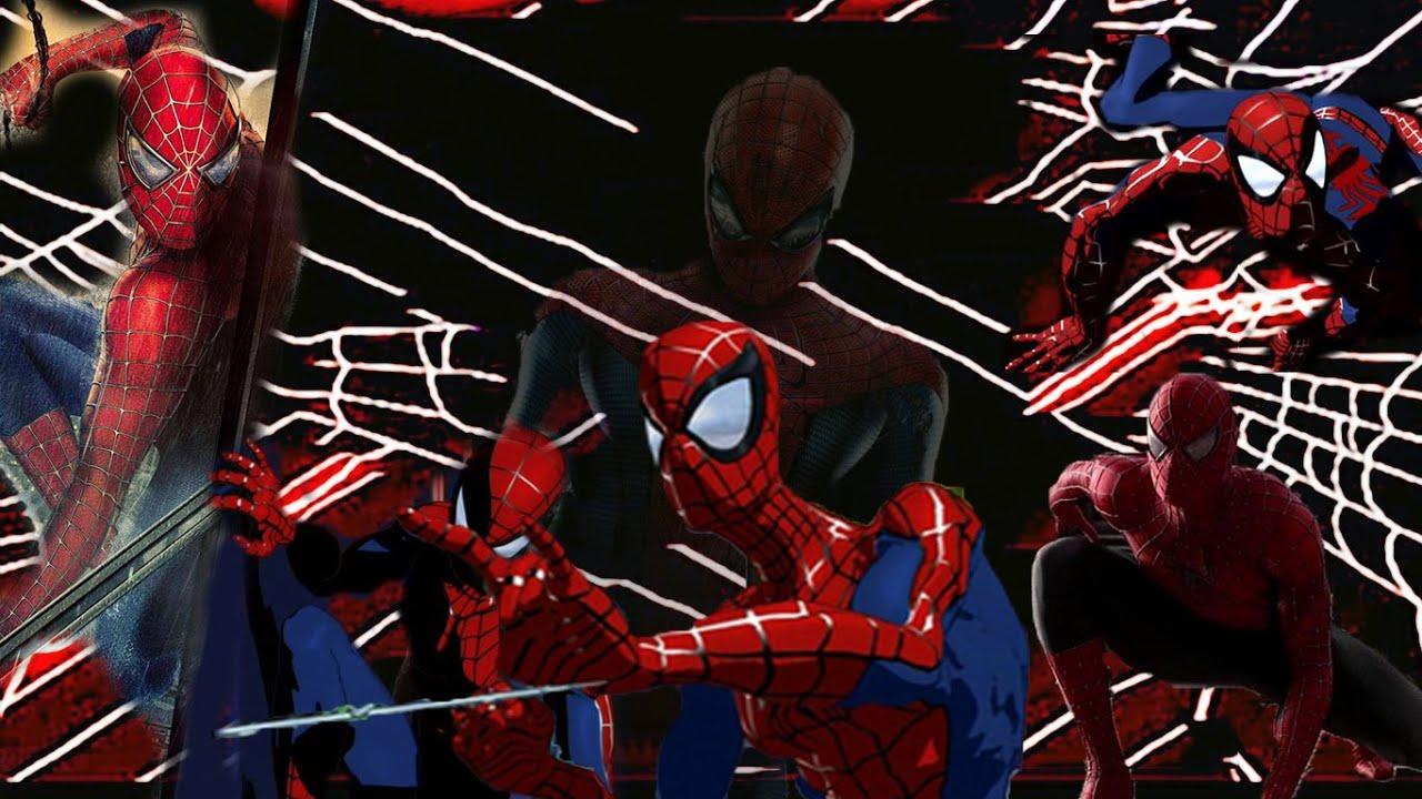 Animated Spider Wallpaper Spider Man Tnas 2003 Theme Movie Style Youtube