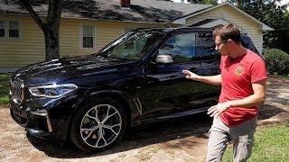 Тест-драйв и обзор BMW X5 G05