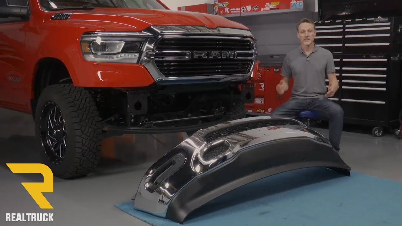 Ram 1500 Bumper >> How To Remove The Front Bumper On A 2019 Ram 1500