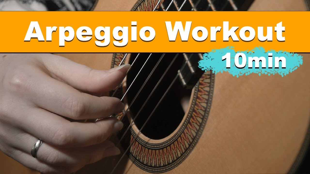 The ideal Arpeggio Routine for beginners (+Free PDF)