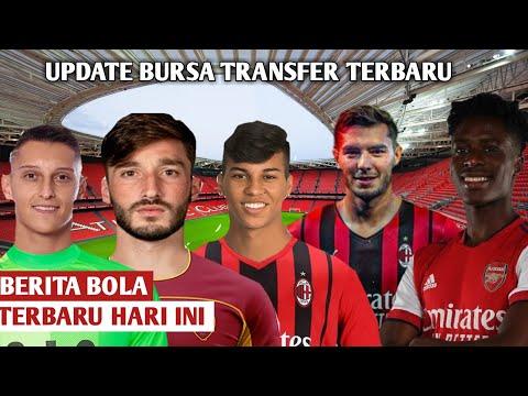 Berita Bola Terbaru Hari Ini \u0026 Transfer Pemain Resmi 2021 ~ AC Milan, Arsenal, Tottenham, AS Roma