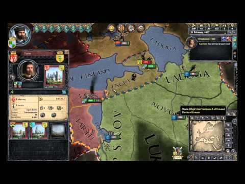 Crusader Kings II Multiplayer Lets Play Episode 18: Russian Merchant Republic