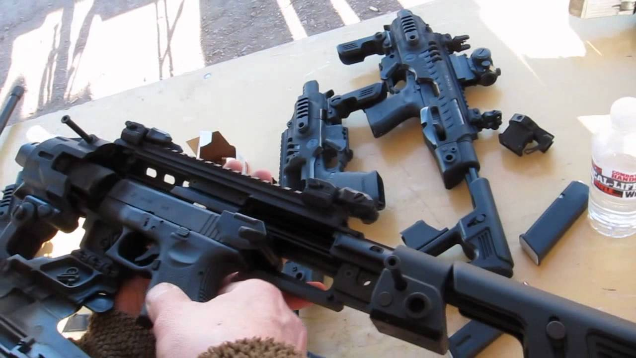 Glock: RONI Pistol - Carbine Conversion from Command Arms ...