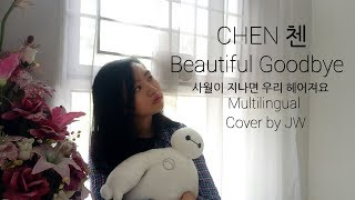 CHEN 첸 #사월이_지나면_우리_헤어져요 (Beautiful Goodbye) Multilingual Cover by JW #첸 #CHEN #CHENSTIVAL