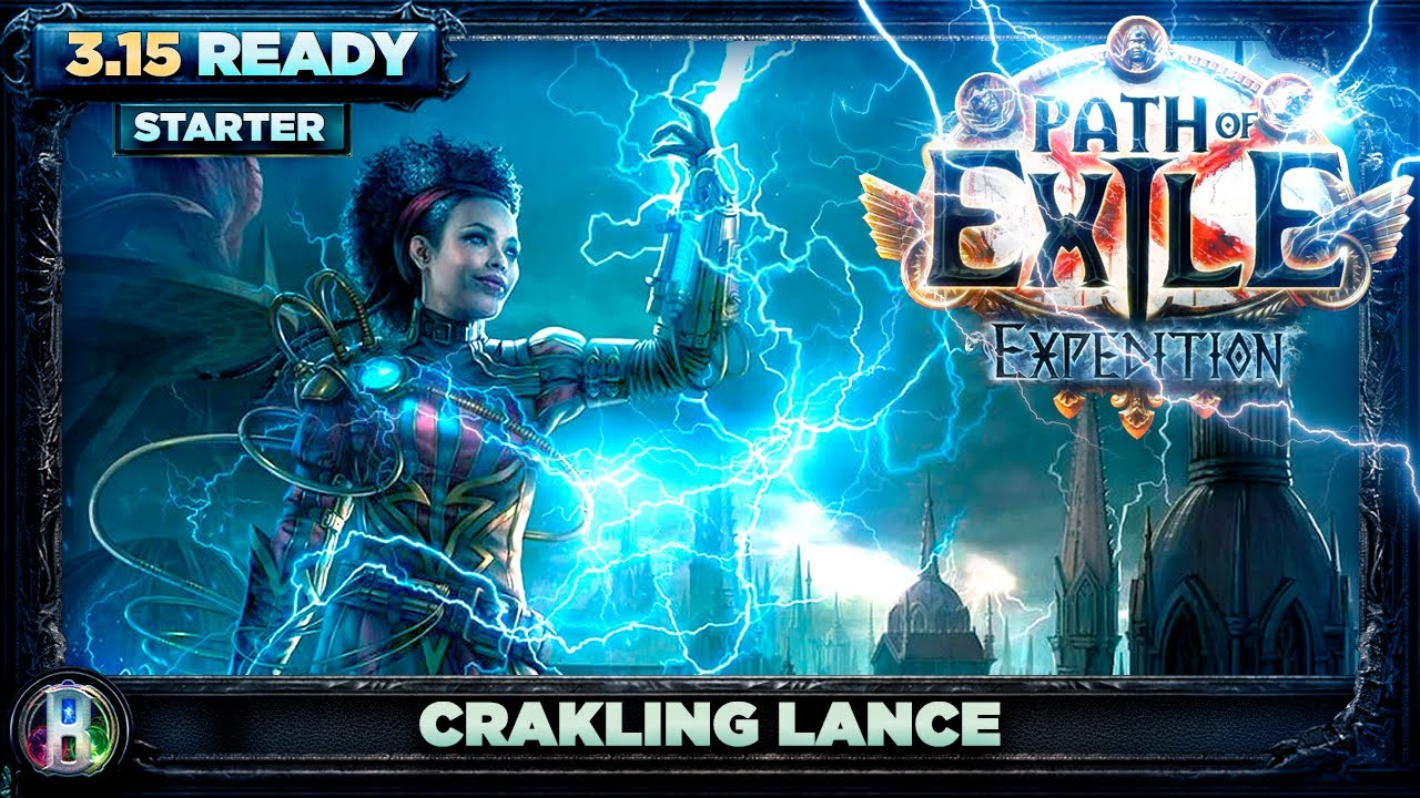 Download Path of Exile 3.15 - Godlike Crackling Lance Build - Elementalist Witch - PoE Expedition - PoE 3.15