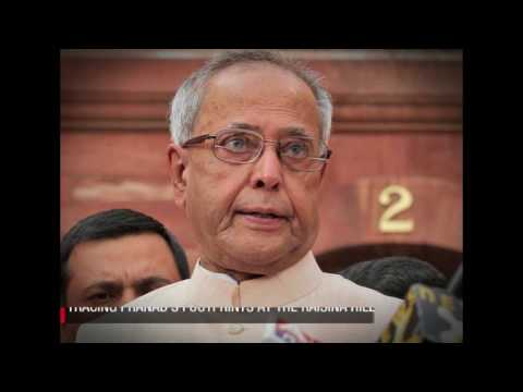 'PERSON OF INTEREST : PRANAB MUKHERJEE'