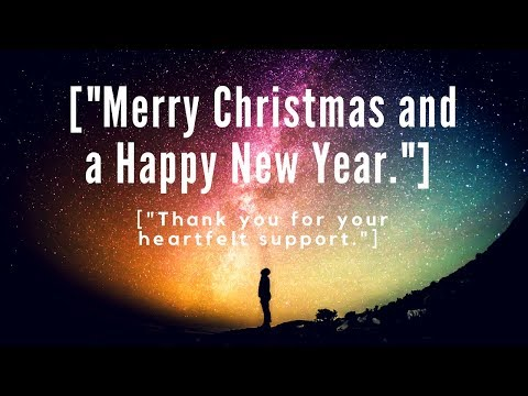Merry Christmas Everyone + Thank You For Your Heartfelt Support.