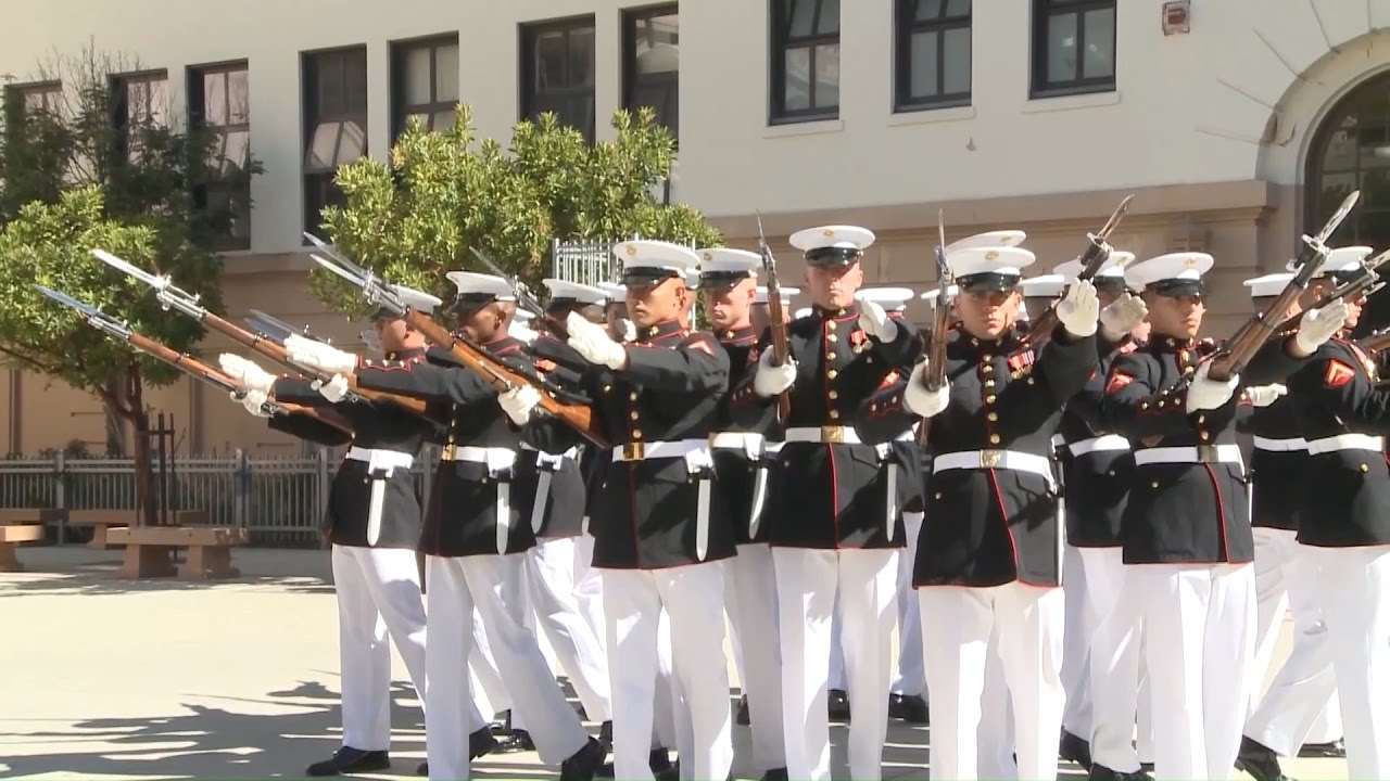 Marine corps silent drill team schedule
