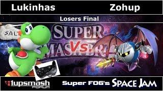 Super FOG's Space Jam - Lukinhas [Yoshi] vs Zohup [Meta Knight] - Losers Finals
